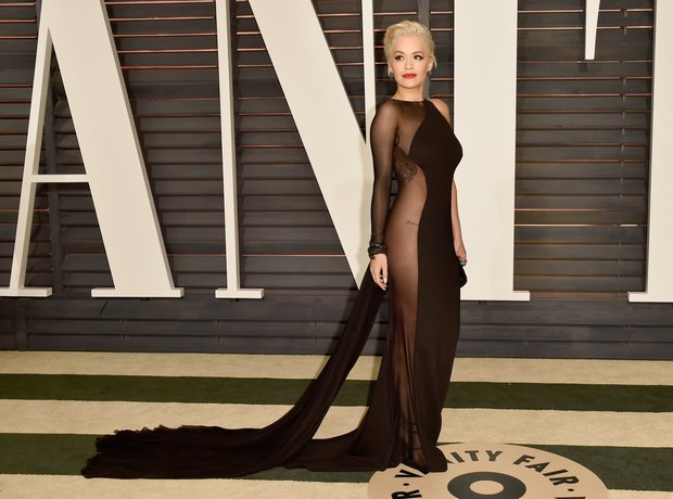 Rita Ora Vanity Fair Oscars Party 2015