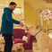 Image 2: Drake feeding dog