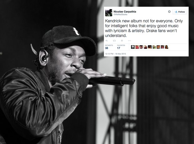 Kendrick Lamar Vs Drake Albums