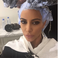 Image 8: Kim Kardashian Hair Dyse