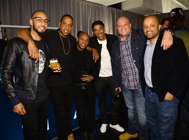 Swizz Beatz, Jay Z, Chris Ivery, Tyra 'Tata' Smit