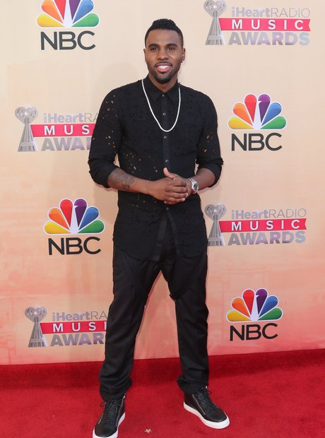Jason Derulo iHeartRadio Awards Red Carpet 2015