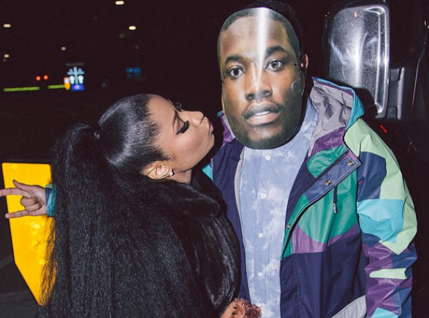 The complete history of nicki minaj and meek mills relationship then nicki minaj brought meek mill out as a surprise guest at her paris show m4hsunfo Images