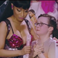 Image 8: Nicki Minaj with fan on Pinkprint tour