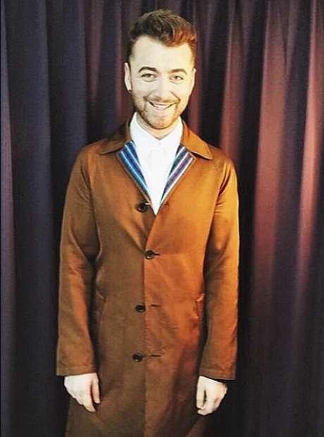 Sam Smith on Instagram