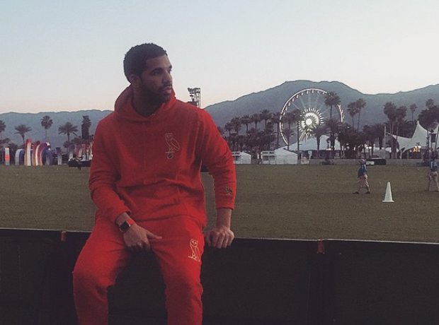 Drake at Coachella 2015