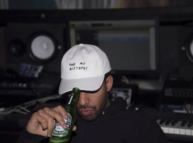 Drake in cap