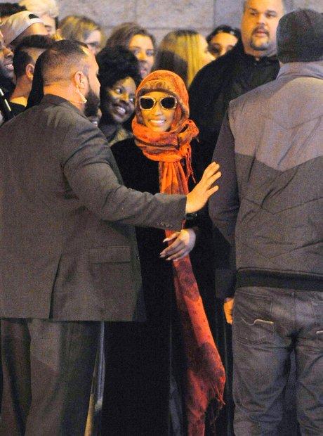 Nicki Minaj covered Up