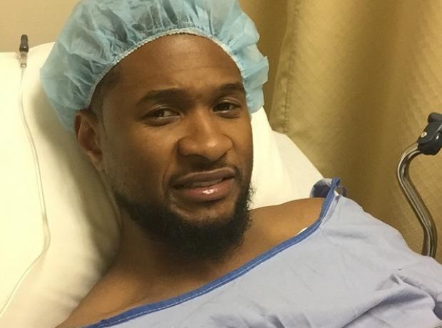 Usher in hospital