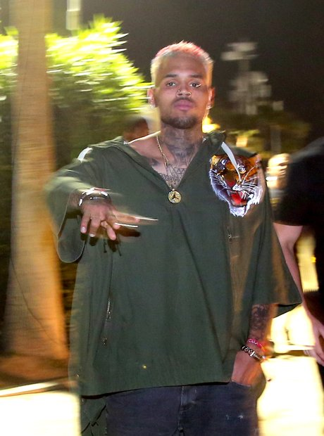 Chris Brown Coachella 2015