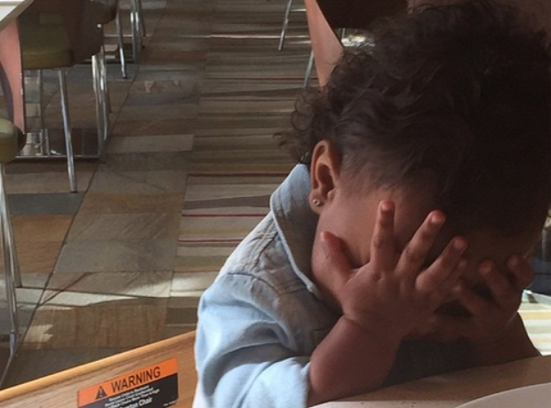 North West annoyed