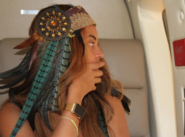 Beyonce iwatch