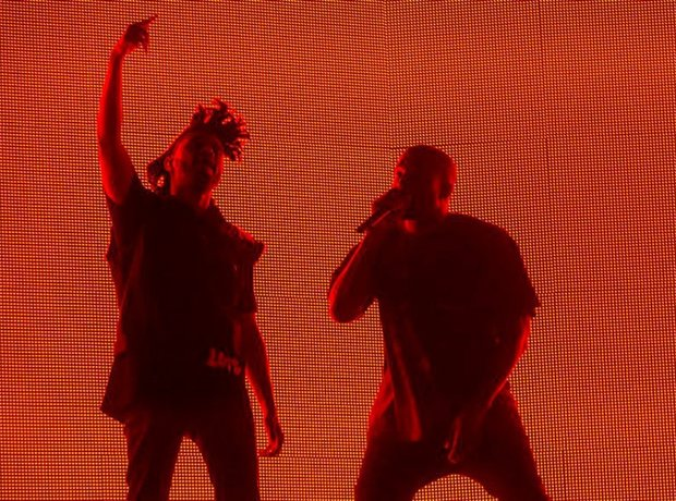 Kanye West The Weeknd Coachella 2015