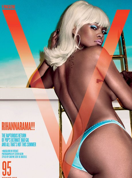 Rihanna Cover V Magazine May 2015
