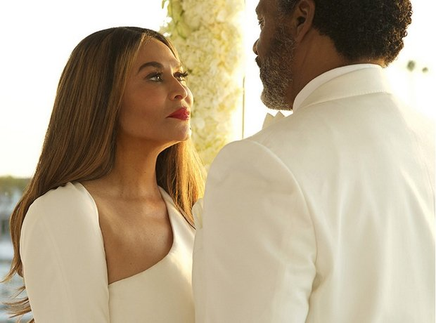 Tina Knowles Wedding photos