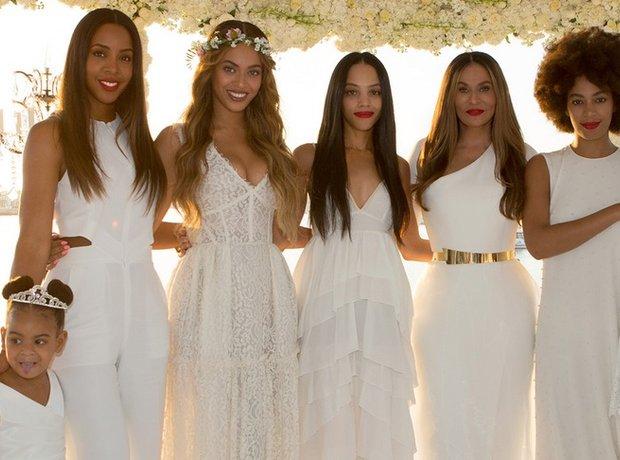 Tina Knowles Wedding photos