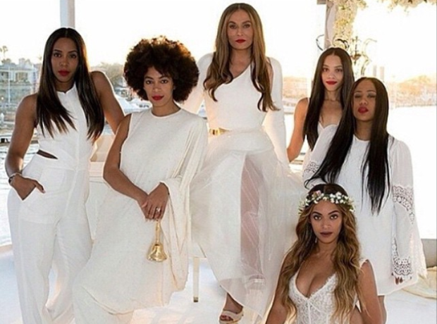 Tina Knowles Wedding Beyonce Brisemaid