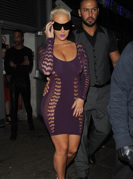 Amber Rose Cut Out Dress
