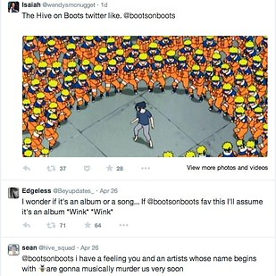 Boots tweet