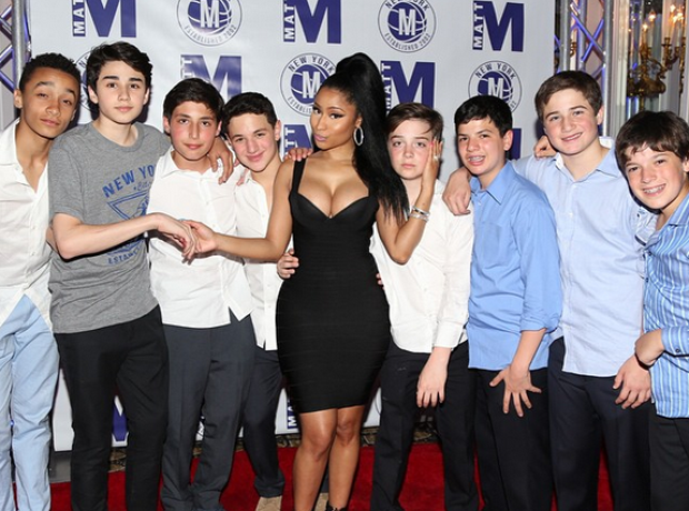 Nicki Minaj at Bar Mitzvah