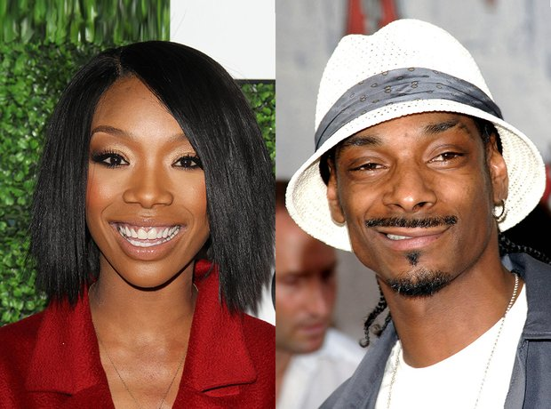 Related Celebritys: Brandy and Snoop Dog