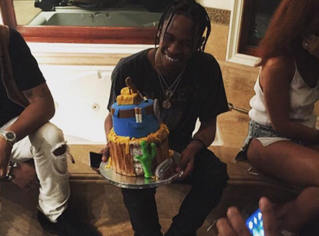 Travi$ Scott Birthday Party 2015