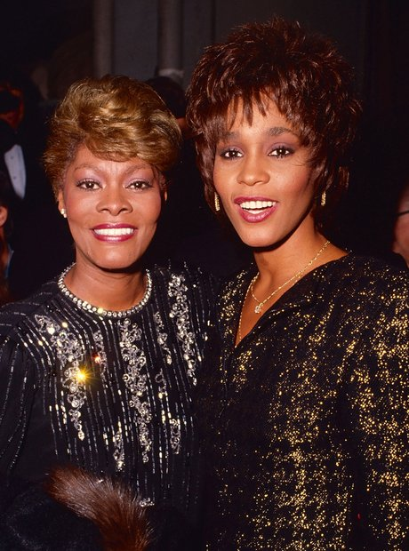 Whitney Houston and Dione Wawrick