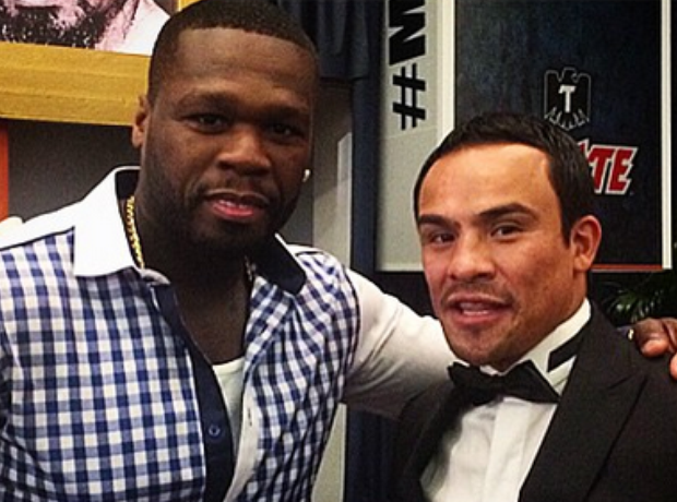 50 Cent boxing Match 2015 13