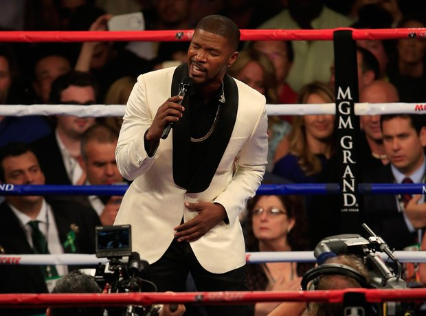 Jamie Foxx Boxing Match 2015