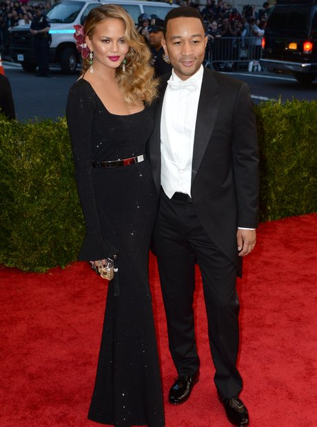 John Legend and Chrissy Teige MET Ball 2015