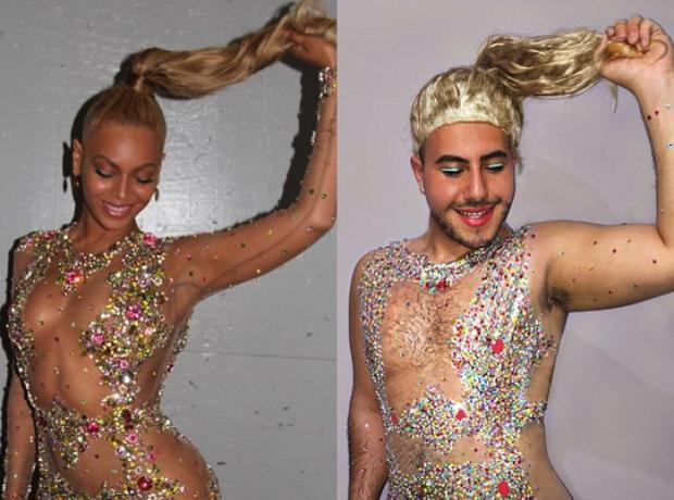 Mina Gerges Beyonce Met Gala look