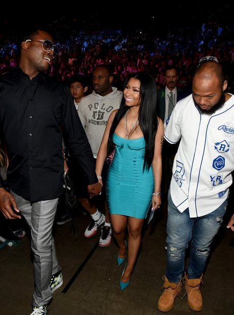 Nicki Minaj and Meek Mill Boxing Match 2015