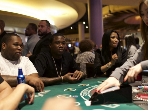 Nicki Minaj and Meek Mill Vegas
