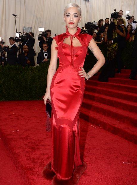 Rita Ora MET Gala Ball 2015