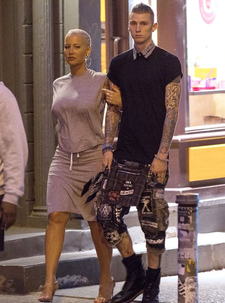 Amber Rose and Machine Gun Kelly