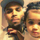 Image 3: Chris Brown and daughter Royalty