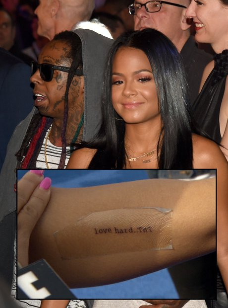 Christina Milian Lil Wayne Tattoo