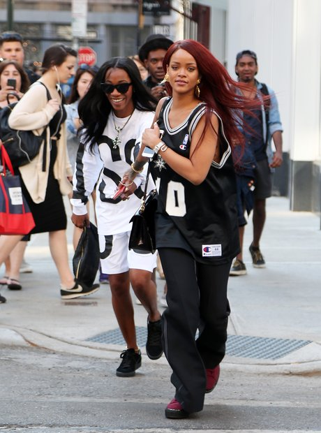 Rihanna and Melissa Forde Running