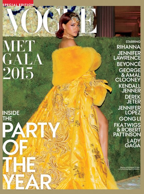 Rihanna Vogue 2015