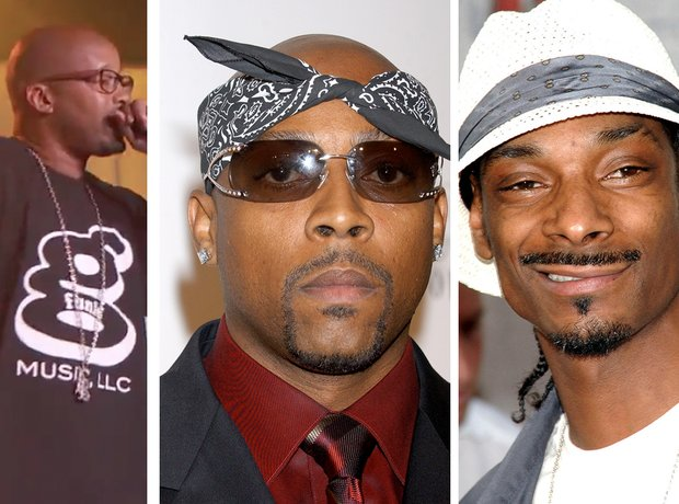Warren G, Nate Dogg and Snoop Dogg