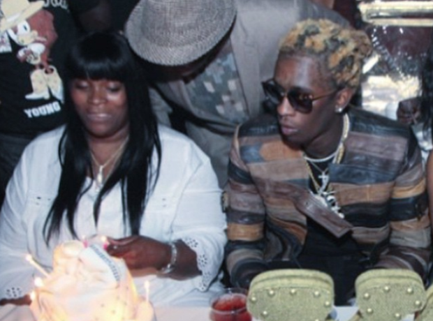 Young Thug and Mother Thugga