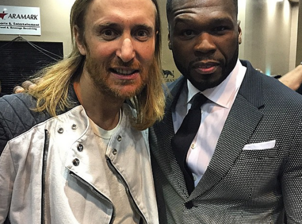 50 Cent David Guetta  Billboard Music Awards 2015