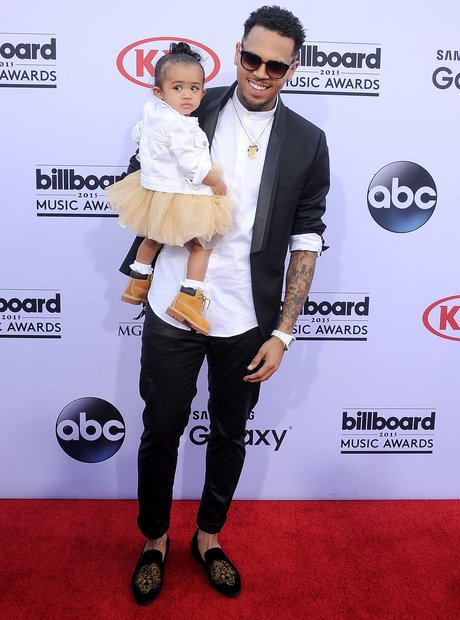 Chris Brown and Daughter Royalty Billboard Music A