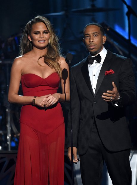 Chrissy Teigan and Ludacris Billboard Music Awards