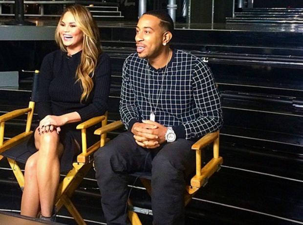 Chrissy Teigen Ludacris Billboard Music Awards 201