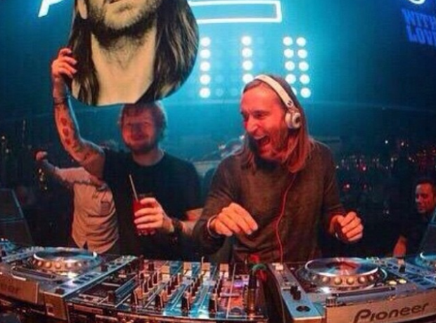 Ed Sheeran and David Guetta