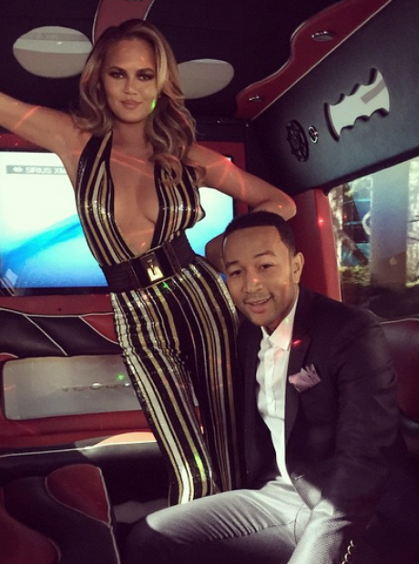 John Legend Chrissy Teigen Billboard Music Awards
