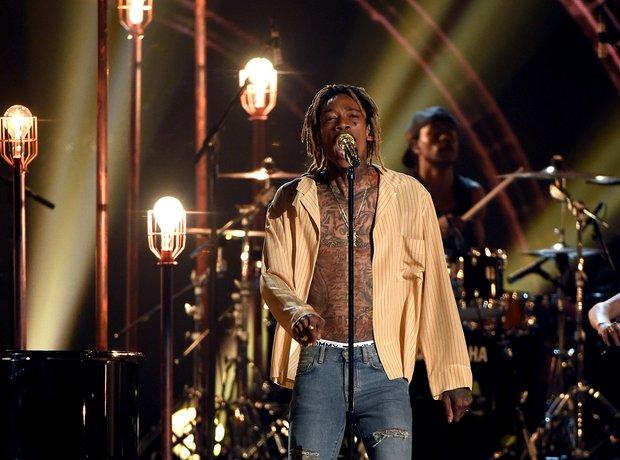 Wiz Khalifa Billboard Music Awards 2015 Performanc