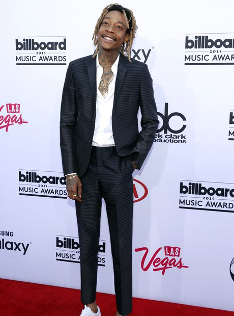 Wiz Khalifa Billboard Music Awards 2015 Red Carpet