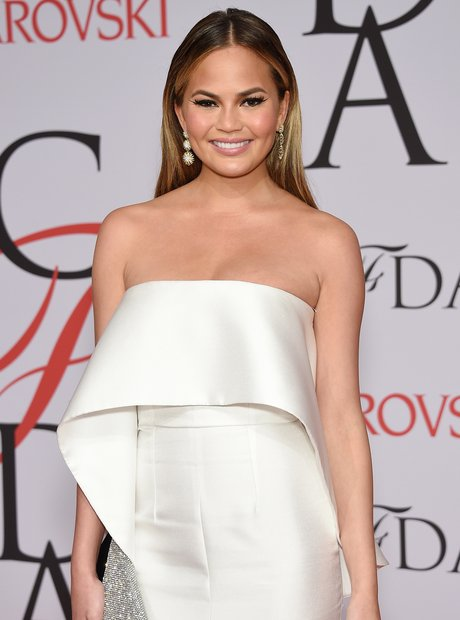 Chrissy Teigen 2015 CFDA Fashion Awards